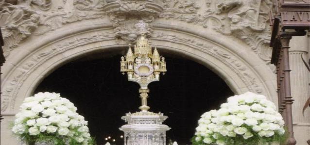 "Día del ""Corpus Christi"""